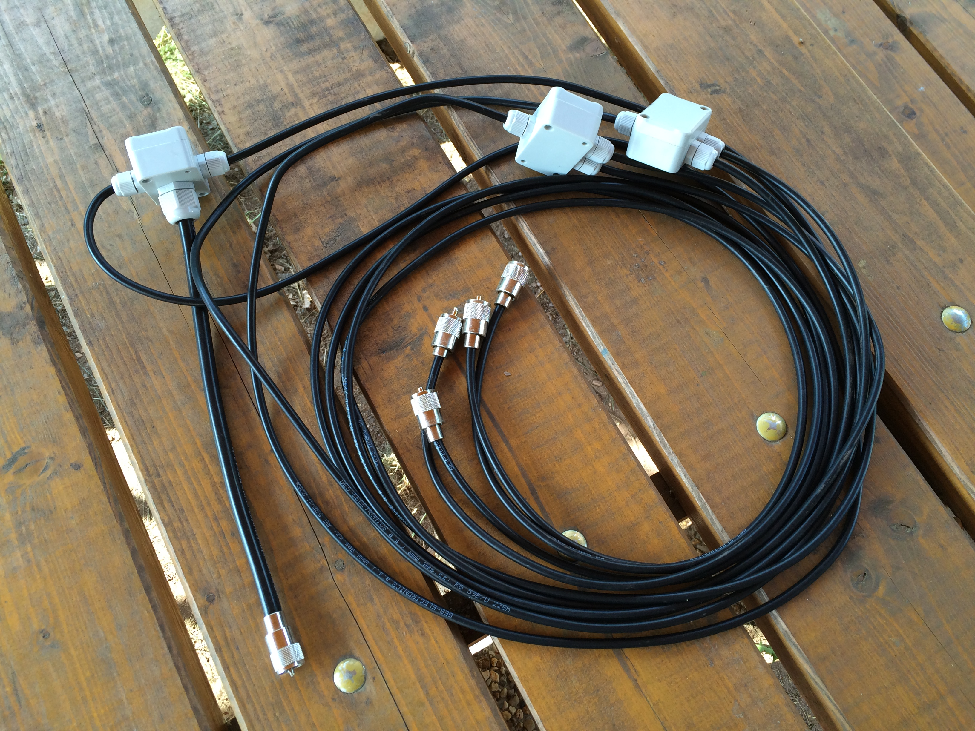 Antenna DK7ZB 4x4ele for 144 MHz